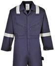 Portwest Iona Polycotton Coverall with Reflective Striping