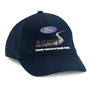 Lawson State Community College Ford ASSET Program Cotton Ball Cap - Click for Large View