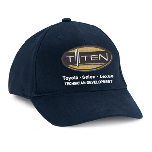 Lawson State Community College Toyota T-Ten Program Cotton Ball Cap - Click for Large View