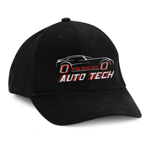 Osseo Senior High School Auto Tech Cotton Ball Cap� - Click for Large View