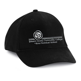 Seward County Community College Cotton Ball Cap - Click for Large View