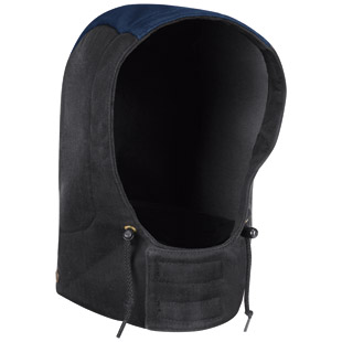 Flame Resistant FR3 Water-Resistant Wind-Repellent Hood - Click for Large View