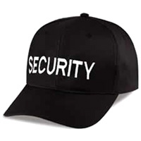 Heros Pride Security Guard Cap - Click for Large View