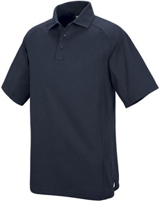 Unisex Special Ops Dark Navy Short Sleeve Polo - Click for Large View
