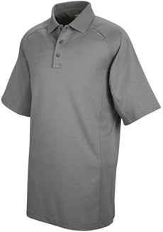 Unisex Special Ops Grey Short Sleeve Polo - Click for Large View