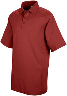 Unisex Special Ops Red Short Sleeve Polo - Click for Large View