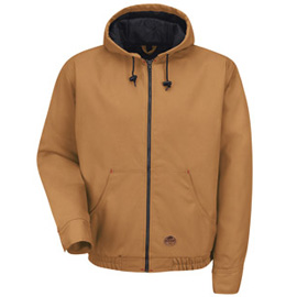 Duck Hooded Work Jacket