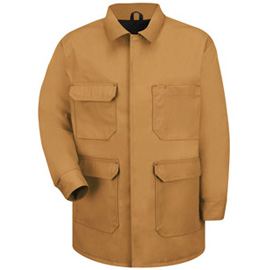 Chore Coat with Quilted Duck