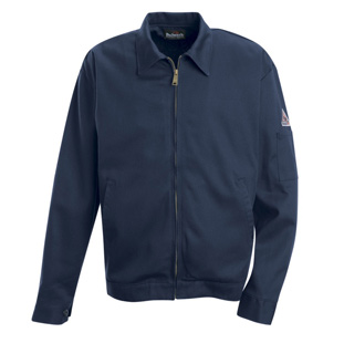 Bulwark Flame Resistant Zip-in Zip-out Cotton Jacket - Liner Not Included - Click for Large View