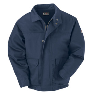 Bulwark Excel-FR Comfortouch Flame Resistant Bomber Jacket - Click for Large View