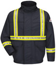 Bulwark Flame Resistant Excel-FR Comfortouch Lined Bomber Jacket with CSA Reflective Trim