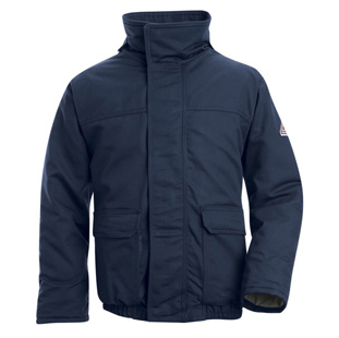 Bulwark Excel-FR Comfortouch Flame Resistant Insulated Bomber Jacket - Click for Large View