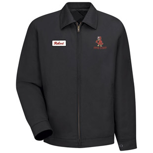 Franklin Pierce High School Slash Pocket Jacket - Click for Large View