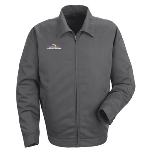 Lawson State Community College Slash Pocket Technician Jacket - Click for Large View