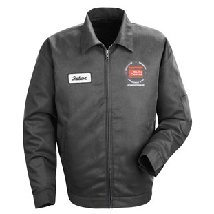 Clark County Skills Center Slash Pocket Technician Jacket - Click for Large View