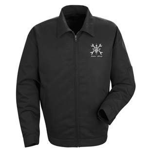Cordova High School Auto Shop Slash Pocket Technician Jacket - Click for Large View