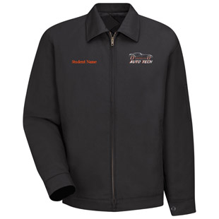 Osseo Senior High School Auto Tech Slash Pocket Technician Jacket - Click for Large View