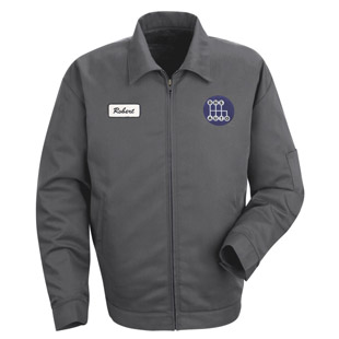 Decatur High School Slash Pocket Technician Jacket - Click for Large View
