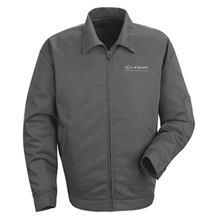 Lexus Slash Pocket Technician Jacket with Lexus Logo - Click for Large View