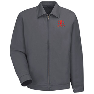 Toyota Slash Pocket Technician Jacket - Click for Large View