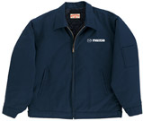 Mazda Navy Blue Slash Pocket Technician Jacket w/ Mazda Logo