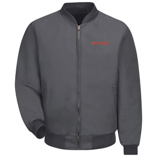 Nissan Perma Lined Technician Jacket with Nissan logo - Click for Large View