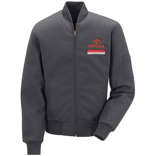 Toyota Perma Lined Technician Jacket with Toyota logo - Click for Large View