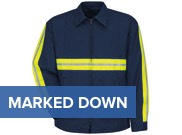 Red Kap Enhanced Visibility Perma-Lined Panel Jacket