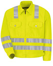 Red Kap Hi Visibility Ike Jacket  - Type R, Class 3