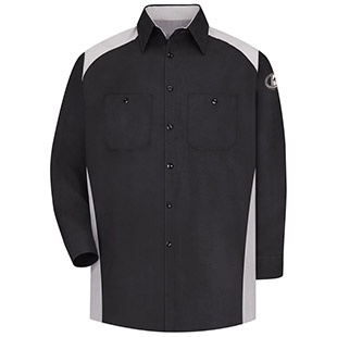 Kubota Technician Long Sleeve Motorsports Shirt - Click for Large View