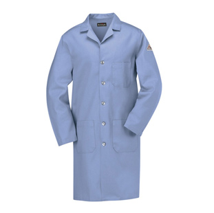 Bulwark Flame Resistant Cotton Lab Coats - Click for Large View