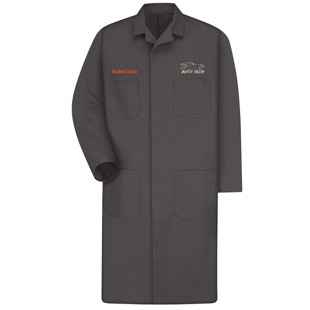 Osseo Senior High School Auto Tech Industrial Shop Coat - Click for Large View
