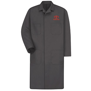 Toyota Technician Shop Coat w/ Toyota Logo - Click for Large View