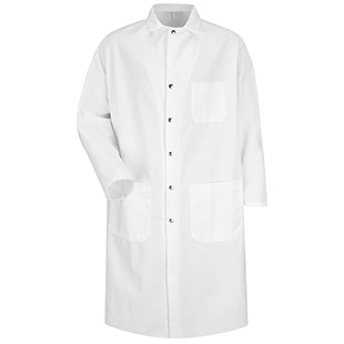 Chef Designs Unisex Full-Cut Butcher Coat - Click for Large View