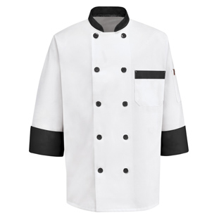 Chef Designs Garnish Chef Coat - Click for Large View