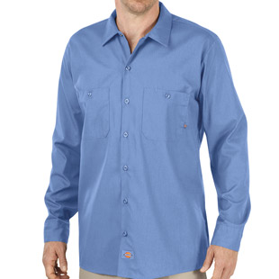 Dickies Industrial Long Sleeve Work Shirt - Click for Large View