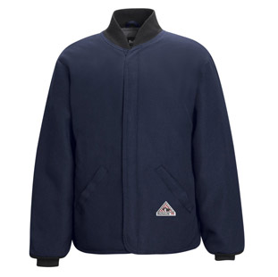Bulwark Flame Resistant Sleeved Jacket Liner - Click for Large View
