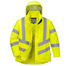 Portwest Ladies Hi-Vis Winter Jacket - Type R, Class 3