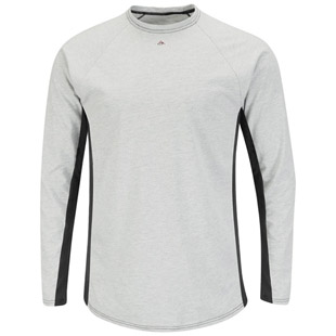 Bulwark Flame Resistant Excel-FR Two Tone Long Sleeve Base Layer - Click for Large View