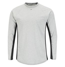 Bulwark Flame Resistant Excel-FR Two Tone Long Sleeve Base Layer
