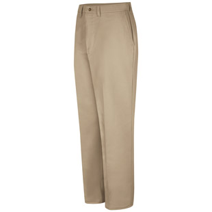 Red Kap Plain Front Cotton Pant - Click for Large View
