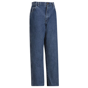 Bulwark Flame Resistant Stone Washed Loose Fit Denim Jean - Click for Large View