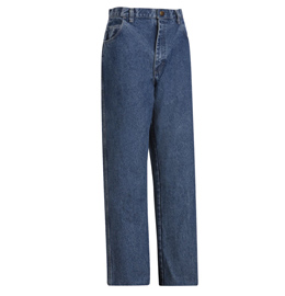 Flame Resistant Stone Washed Loose Fit Denim Jean