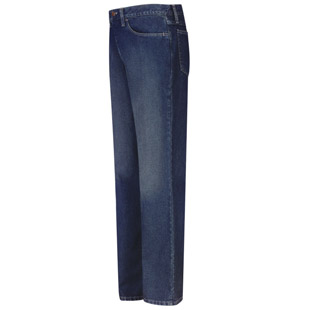 Flame Resistant Excel-FR Straight Fit Sanded Denim Jean - Click for Large View