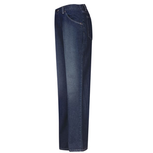 Bulwark Flame Resistant Excel-FR Womens Straight Fit Sanded Denim Jean - Click for Large View
