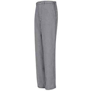 Chef Designs Spun Poly Checked Cook Pant - Click for Large View