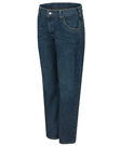 Bulwark Flame Resistant Men's Straight Fit Jean with Stretch