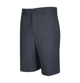 Men's Dura-Kap Plain Front Uniform Short