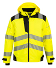 Portwest PW3 Extreme Winter Breathable Rain Jacket - Type R, Class 3
