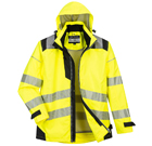 Portwest PW3 Hi-Vis 3-in-1 Jacket - Type R Class 3